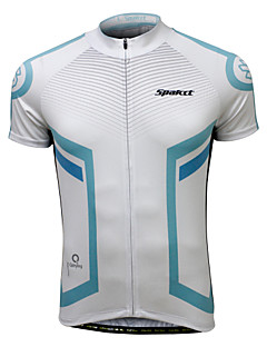SPAKCT Cycling Jersey with Shorts Men's Men Short Sleeves Bike Clothing Suits Cycling Low Windage Ultraviolet Resistant Coolmax Terylene
