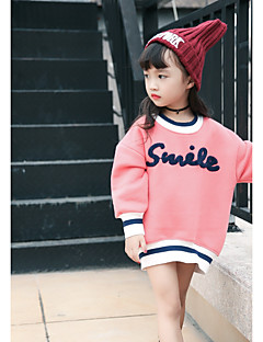 cheap Girls' Hoodies & Sweatshirts-Girls' Other Blouse, Cotton Winter Fall Long Sleeves Blushing Pink Light Brown