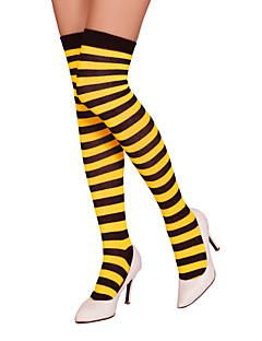 billige Moteundertøy-kvinners mellomstore strømper - stripete