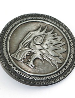 billige Anime cosplay-Emblem Inspirert av Game of Thrones Eren Jager Anime Cosplay-tilbehør Brosje Legering