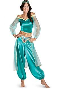 Prinsessa Jasmine Cosplay-Asut Naamiaisasu Naiset Joulu Halloween Karnevaali Uusi vuosi Oktoberfest Festivaali / loma Halloween-asut