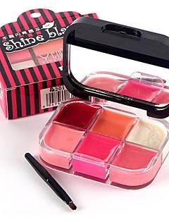 billiga Läppar-Läpp Läppglans Läppstift Hög kvalitet Formaldehydfri Ammoniakfri Sotig makeup Kattögonmakeup Älvlik makeup Festmakeup Halloweenmakeup