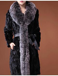 Damen Druck Einfach Lässig/Alltäglich Weste Herbst Langarm Standard Baumwolle