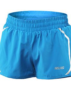 billige Løbetøj-Arsuxeo Dame Løbeshorts Sport Shorts / Underdele Yoga, Campering & Vandring, Taekwondo Hurtigtørrende, letvægtsmateriale, Refleksbånd