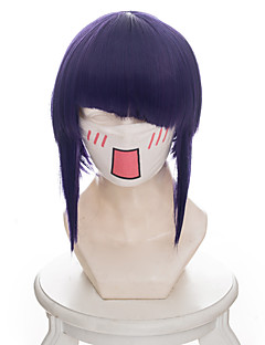 billige Anime cosplay-Cosplay Parykker My Hero Academy Battle For All / Boku no Hero Academia Kyoka Jiro Anime Cosplay-parykker 38 CM Varmeresistent Fiber