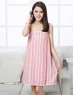 Frischer Stil Badehandtuch,Gestreift Gehobene Qualität Polyester / Baumwolle Handtuch