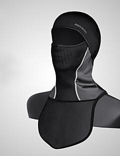 baratos Total Promoção Limpa Estoque-Máscaras de Esqui Inverno Manter Quente A Prova de Vento Forro de Velocino Moto Homens Elastano Tosão Sólido