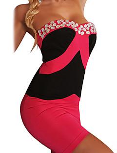 preiswerte Kostüme für Erwachsene-Uniformen Cosplay Kostüme Fest / Feiertage Halloween Kostüme Weiß Beige Rot Blau Fuchsia Sexy Uniformen
