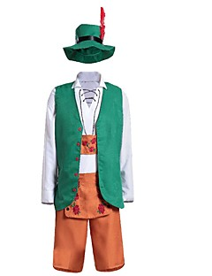 Oktoberfest/Beer Cosplay Costumes Female Halloween Carnival Oktoberfest Festival / Holiday Halloween Costumes Green Solid