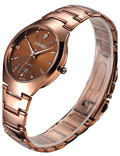 billige -Herre Klokkeesker Armbåndsur Unike kreative Watch Hverdagsklokke Moteklokke Selskapsklokke Kinesisk Quartz Kalender Kronograf