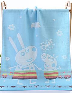 Frisse stijl Badhanddoek,Dieren Superieure kwaliteit Puur Katoen Dobby Handdoek