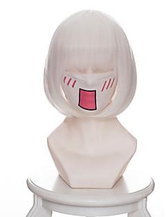 billige Anime cosplay-Cosplay Parykker Hoozuki ingen Reitetsu Zashiki-warashi 2 Anime Cosplay-parykker 35 CM Varmeresistent Fiber Dame