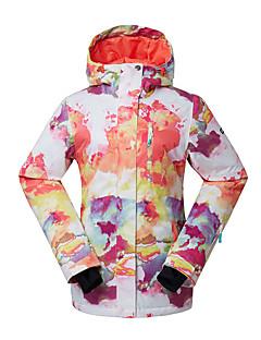 Dames Ski-jack Warm waterdicht Winddicht Draagbaar Ademend Skiën Ski Milieuvriendelijk Polyester Zijde Doek