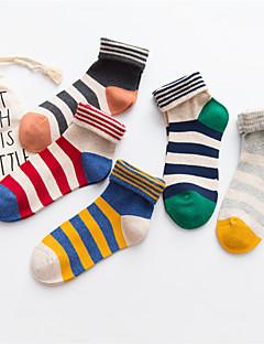billige Moteundertøy-Dame Sokker-Stripet Normal