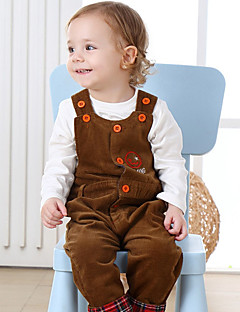 Baby Child Overall & Jumpsuit,100%Cotton Spring/Fall Long Pant Red Dark Gray Yellow Lavender