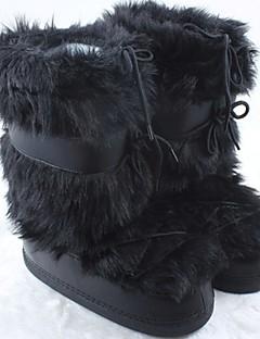 女性用 スノーブーツ 冬用ブーツ 繊維 ウィンタースポーツ アンチスリップ 耐久性 保温処理 抗衝撃 冬