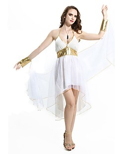 Goddess Athena Ancient Greek Costume Womenu0027s Dress Masquerade Party Costume White Vintage Cosplay Terylene Sleeveless Knee Length  sc 1 st  LightInTheBox & Ancient Greek Historical u0026 Vintage Costumes Search LightInTheBox