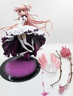 billige Anime cosplay-Anime Action Figurer Inspirert av Puella Magi Madoka Magica Madoka Kaname PVC CM Modell Leker Dukke Herre Dame
