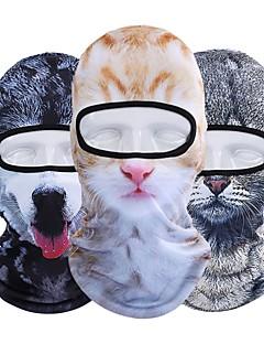 billige Sykkelklær-Nuckily balaclavas Vinter Høst Vindtett Myk 3D-utskrift Elastisk Solkrem Bekvem Pusteevne Camping & Fjellvandring Utendørs Trening Sykkel