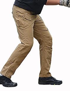 tanie Odzież turystyczna-Męskie Turistické kalhoty Na wolnym powietrzu Trener Chodzenie Rozciągliwe Spodnie Łowiectwo Piesze wycieczki Wspinaczka