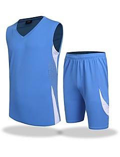 preiswerte -Herrn Fußball T-shirt Trainer Atmungsaktivität Sommer Solide Polyester Fussball