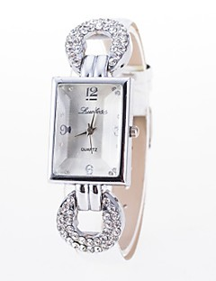 ieftine Ceasuri de Cupluri-Pentru femei Pentru cupluri Quartz Ceas de Mână Chineză Ceas Casual Aliaj Bandă Floare Sclipici Ceas de diamant simulat Plin de Culoare