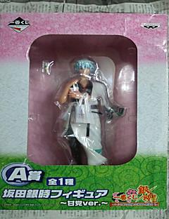 billige Anime cosplay-Anime Action Figurer Inspirert av Gintama Gintoki Sakata PVC CM Modell Leker Dukke