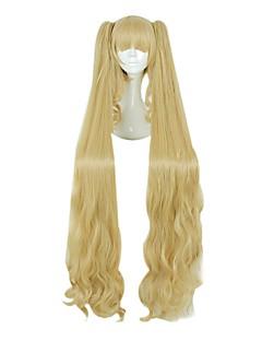 お買い得  ロリータファッション用ウィッグ-ロリータウィッグ クラシック/伝統的なロリータ 姫ロリータ ロリータウィッグ 120 cm コスプレウィッグ かつら 用途