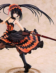billige Anime cosplay-Anime Action Figurer Inspirert av Date A Live Kurumi Tokisaki PVC CM Modell Leker Dukke Herre Dame