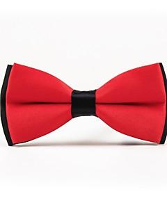 baratos Loja de Casamentos-Homens Simples Casual Gravata Borboleta Côr Sólida
