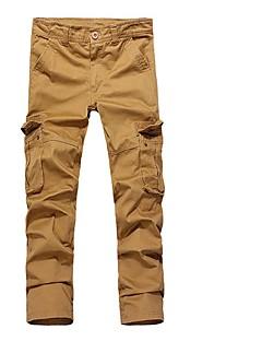 baratos Calças e Shorts para Trilhas-Homens Calças Cargo Ao ar livre A Prova de Vento, Vestível Inverno Calças Multi-Esporte / Com Stretch
