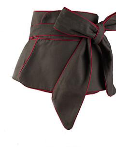 billige Trendy belter-Dame Vintage Bredt belte,Elegant Tøy Svart Militærgrønn
