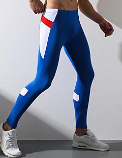 billige Herrebukser og -shorts-Herre Joggebukser Bukser Polyester Spandex Geometrisk