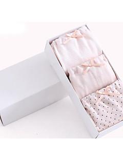 billige Undertøj og sokker til piger-Pige Undertøj Prikker, Bomuld Alle årstider Mikroelastisk Lyserød Grå