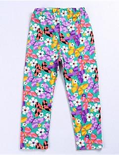 tanie Odzież dla dziewczynek-Spodnie Inne Dla dziewczynek Lato White Orange Czerwony Blushing Pink Purple