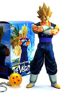 billige Anime cosplay-Anime Action Figurer Inspirert av Dragon Ball Goku PVC 28.5 cm CM Modell Leker Dukke
