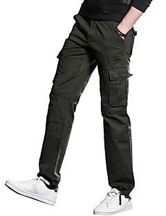 billige Herrebukser og -shorts-Herre Punk & Gotisk Store størrelser Joggebukser Chinos Bukser Ensfarget
