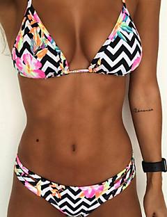 cheap Women's New Ins-Women's Bandeau Solid Bikini