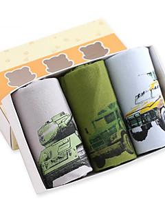preiswerte Unterwäsche & Socken für Jungen-Jungen Unterwäsche Bemalt Baumwolle Ganzjährig Armeegrün