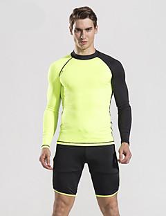 お買い得  ウェットスーツ/ダイビングスーツ/ラッシュガードシャツ-HISEA® 男性用 ショートウェットパンツ 抗放射線 ソフト ナイロン ショートパンツ ボトムズ ビーチ
