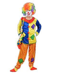Burleske Clown Zirkus Cosplay Kostüme Party Kostüme Unisex Karneval Fest / Feiertage Halloween Kostüme Regenbogen Einfarbig