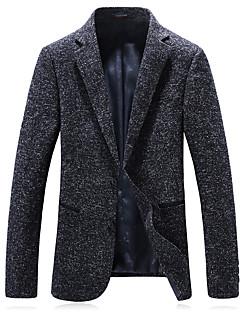 billige Herremote og klær-Store størrelser Blazer - Ensfarget Klubb Herre