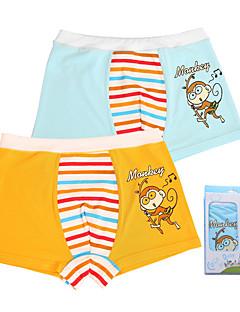 billige Undertøj og sokker til drenge-Unisex Undertøj Tegneserie, Bomuld Alle årstider Simple Elastisk Orange