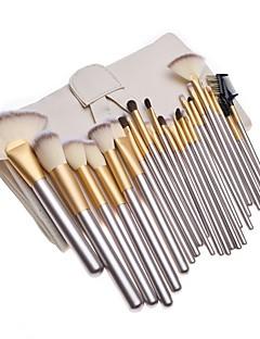 cheap Makeup Brushes-24pcs Foundation Brush Powder Brush Eyelash Brush Eyelash Comb (Flat) Eyeliner Brush Lip Brush Eyeshadow Brush Blush Brush Makeup Brush