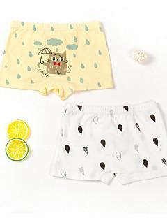 billige Undertøj og sokker til drenge-Drenge Undertøj Tegneserie, Bomuld Forår Simple Elastisk Gul