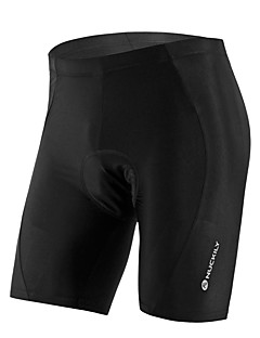 cheap Cycling Pants, Shorts, Tights-Nuckily Unisex Cycling Padded Shorts Bike Shorts / Jersey / Bottoms Anatomic Design, Ultraviolet Resistant, Breathable Solid Colored,