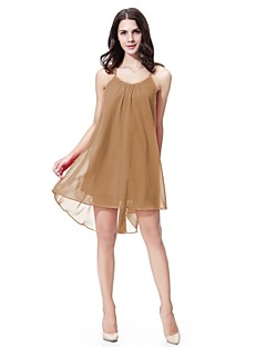 cheap Maternity Wear-Women's Beach Cute Active Lace Chiffon Swing Dress - Solid Colored, Backless High Rise Mini Strap