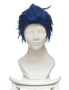 billige Anime cosplay-Cosplay Parykker Violet Evergarden Gilbert Bougainvillea Anime Cosplay-parykker 35 CM Varmeresistent Fiber Herre