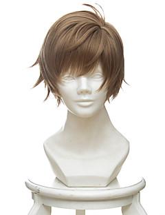 billige Videospill cosplay-Cosplay Parykker Kjærlighet og produsent Bai Qi Anime / Videospill Cosplay-parykker 30 CM Varmeresistent Fiber Herre