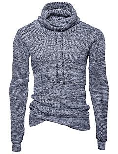 tanie Męskie swetry i swetry rozpinane-Męskie Vintage Golf Pulower Jendolity kolor